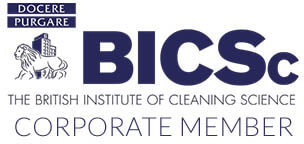 Corporate Member of the BISC British Insititute of Cleaning Science